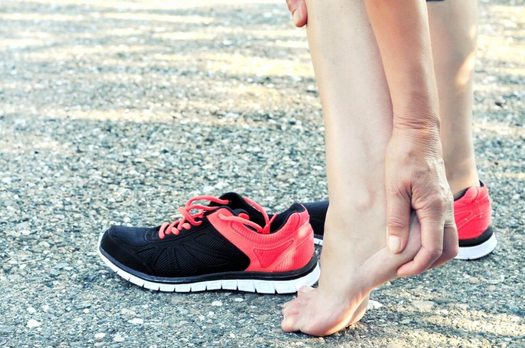 A columbus ohio woman with foot pain