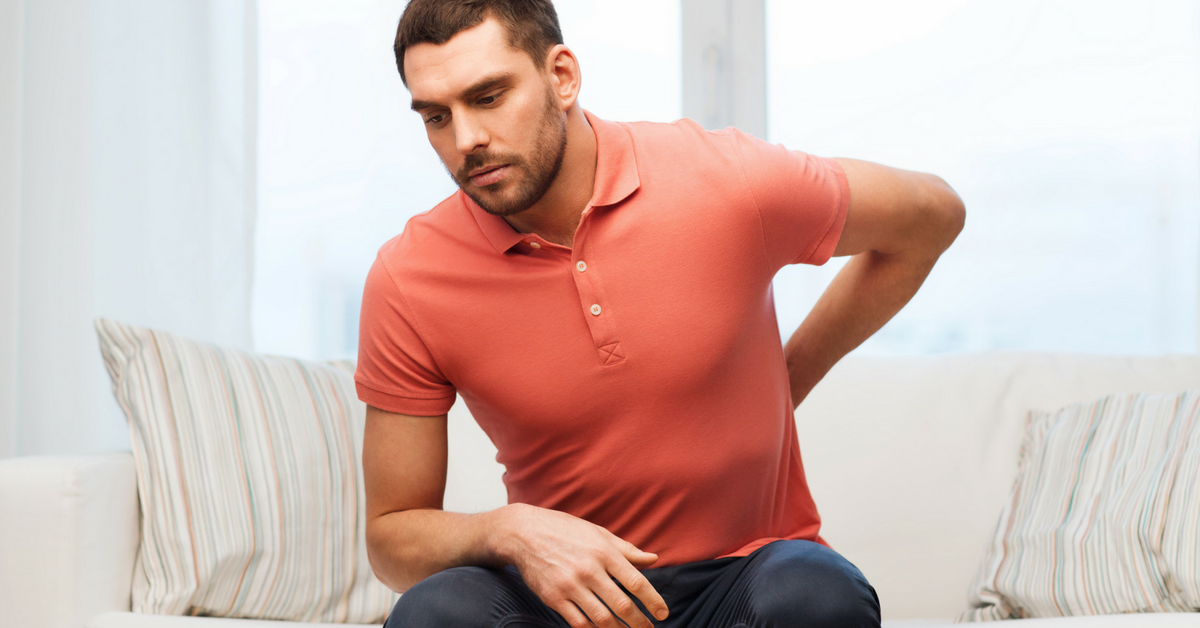 Tampa man with back pain